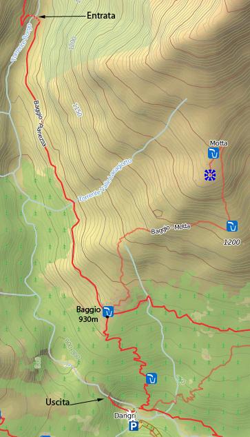mappa borgo