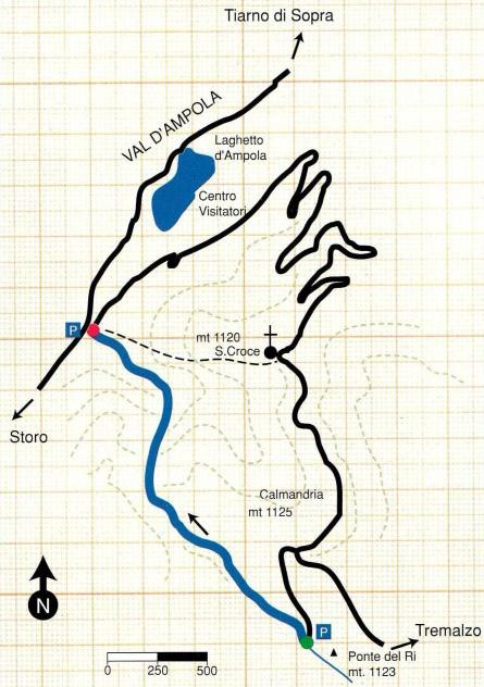 mappa rio nero