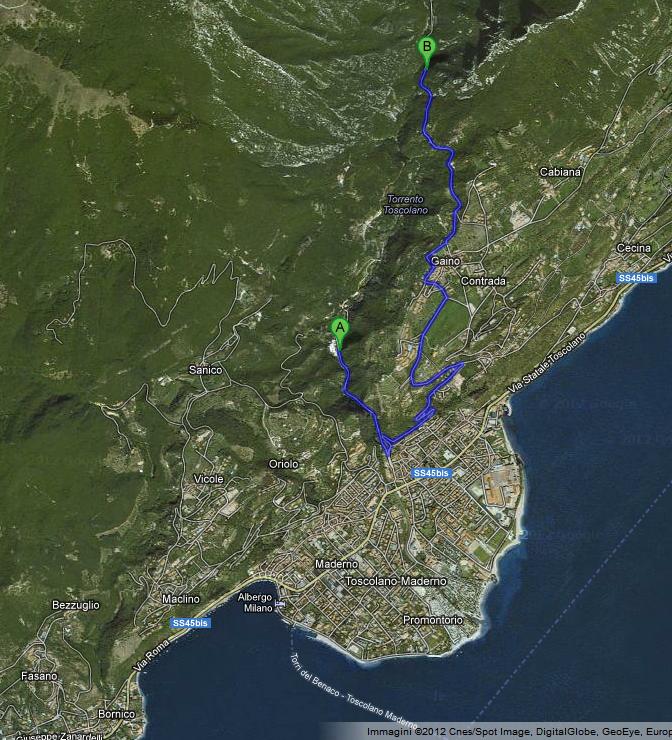 mappa toscolano