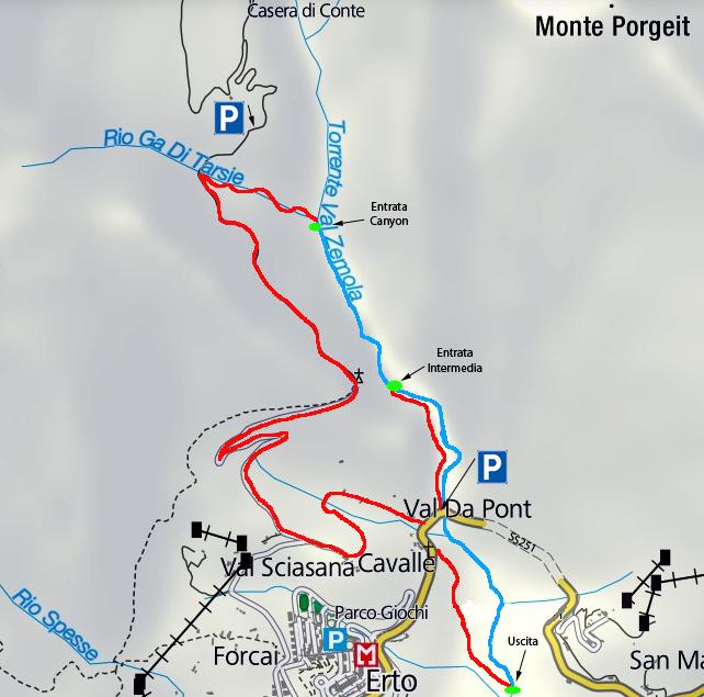 mappa zemola